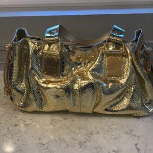 Michael Kors python purse
